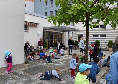 Straßenmalfest Kindergarten Märchenland